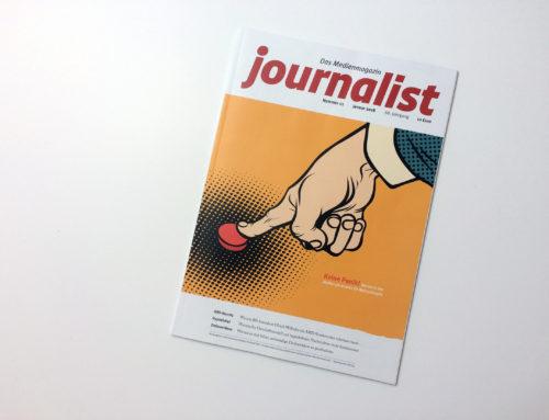 """""""Hyper-Hyper, ruhe sanft"""" im Journalist – Das Medienmagazin"""